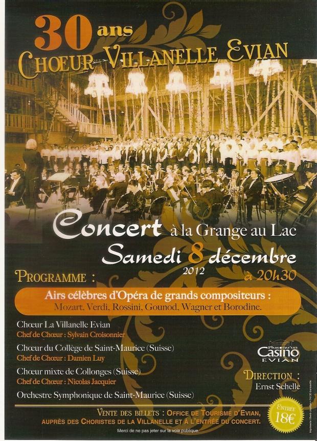 Affiche concert 8 decembre