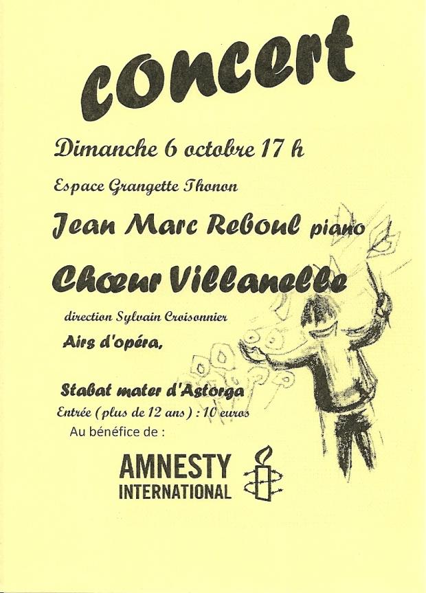 affiche Villanelle