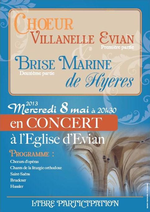 Affiche concert