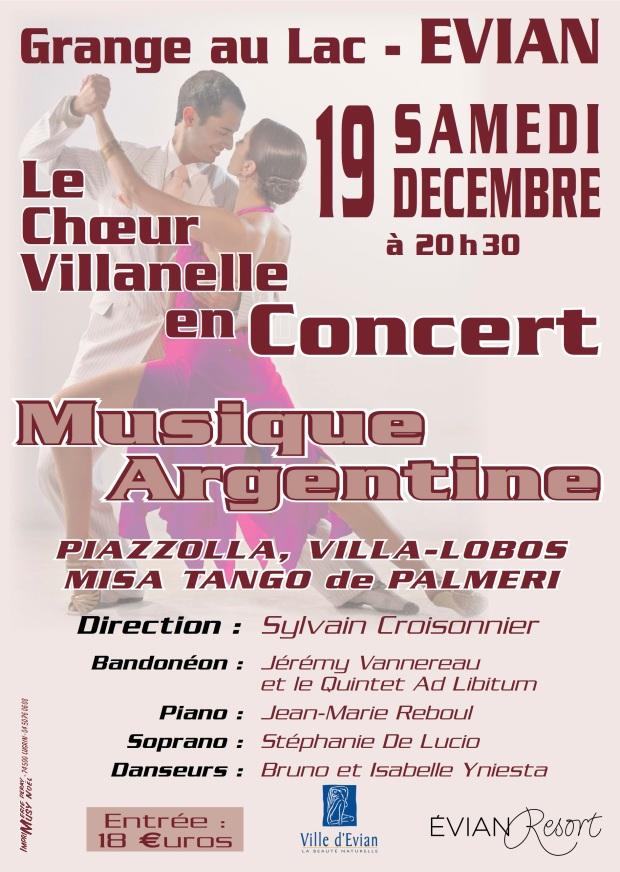 Affiche 19 décembre Villanelle