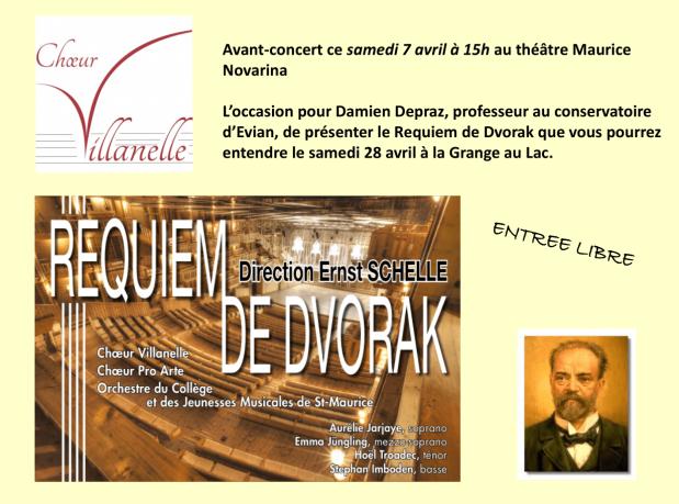 Invitation avant-concert